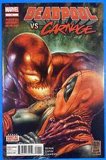 DEADPOOL Vs. CARNAGE #1, 1st PRINT, NM+ (9.6) 1st Shriek Cameo, Marvel 2014