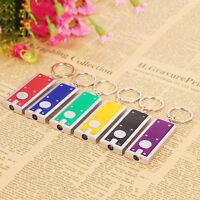 Mini Taschenlampe Schlüsselanhänger Karabiner Taschenlampe Cam Y1U4 Licht H U6O2