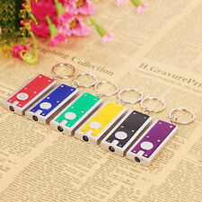 5Pcs Bright LED Camping Light Keyring Torch Key Chain Ring Flashlight Lamp