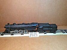 American Flyer Steam Engine #287 4-6-2 and N&W tender