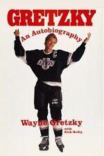 Gretzky An Autobiography - Wayne Gretzky - HC w/DJ 1st PRINT 1990