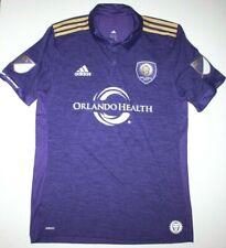 Nwt Adidas Orlando City Home Jersey Men's L Soccer Jersey Purple Dp4790 Health