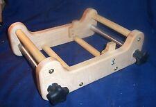"""Rigid Heddle 7"""" Loom  with 2 Segment Holder 8, 10 or 12 Dent, Lockable Shafts"""