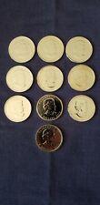 10 Canadian 1 oz Maple Leaf Bullion .9999 BU Leafs Coins 2010- 2009