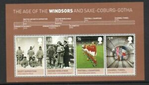 Great Britain Sc 2995 2012 House of Windsor stamp souvenir sheet mint NH