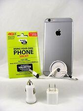 Apple iPhone 6 - 16GB - Space Gray (Straight Talk/T-Mobile 4G LTE Nano SIM Card)