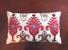 PIER 1 IMPORT TRADITIONAL PILLOWCASE CUSHION COVER BED LINEN THROW Set of Two 2