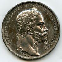1859 Vittorio Emanuele II Medal Franco-Sardinian Italian Independence War 50mm