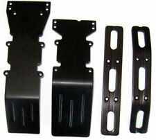 T-Maxx or E-Maxx Black Anodized Skid Plates &  Bumpers