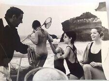 """ROMY SCHNEIDER - PHILIPPE NOIRET - """" LE VIEUX FUSIL """" PHOTO DE PRESSE   14x20"""