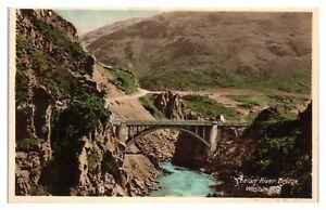 Chelan River Bridge, Chelan County, WA Hand-Colored Postcard *6L26