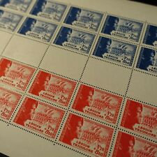 FEUILLE SHEET LÉGION TRICOLORE N°565/566 x20 1942 NEUF ** LUXE MNH COTE 250€