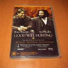 GOOD WILL HUNTING ( DVD , Region 4 ) Robin Williams , Matt Damon ~ Very good