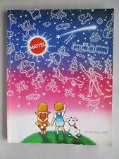 Mattel Toy CATALOG - 1988 ~~ toys