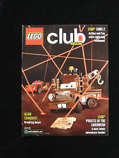 LEGO CLUB MAGAZINE 2011 LEGO CARS 2 PIRATES OF THE CARIBBEAN 25 PAGES