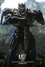 Transformers 4 Age of Extinction 2014 Movie Poster (24x36) - Optimus Prime