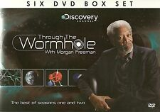 THROUGH THE WORMHOLE WITH MORGAN FREEMAN BEST OF SEASONS 1 & 2 - 6 DVD BOX SET
