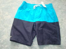 LACOSTE 2 TONE BLUES SWIMWEAR SIZE L