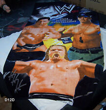 WWE World Wrestling Jumbo 90cm x 180cm Beach Towel New Cena Batista Triple H