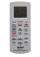 Universal Air Con Remote Control for CARRIER, FUJITSU, ROWA, SAMPO, SAMSUNG, TCL