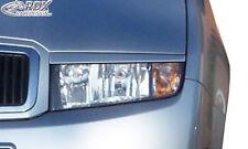 RDX Scheinwerferblenden SKODA Fabia 1 / 6Y Böser Blick Blenden Spoiler Tuning