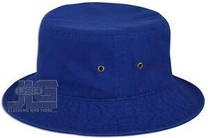 Classic Quality Bucket Hat 100% Cotton Size S/M ~ L/XL Summer Fisherman Hat Cap