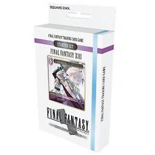 Final Fantasy TCG FFTCG ORIGINAL Final Fantasy XIII #13 Starter Deck SEALED!!