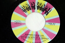 Five Blind Boys of Alabama: Running for my Life / Love, Love..  [NEW & Unplayed]