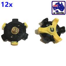 12pcs Golf Shoes Spikes Metal Thread Screw Studs Replacemet Footjoy OBGO66901x12