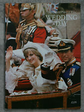 Prince and Princess of Wales Wedding Day 1981 Pitkin 32 Page Charles Diana