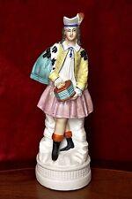 Antique German Porcelain Musician Figurine
