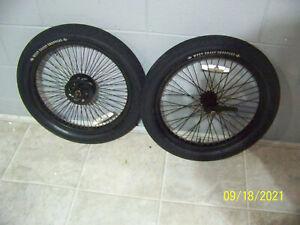 Jesse James West Coast Chopper Bicycle/Bike Front & Rear Wheel Set