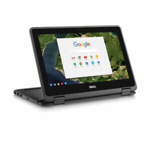 Dell 3189 2-in-1 11.6 in Touch Screen chromebook 4GB 16GB SSD Chromebook  DP1T3