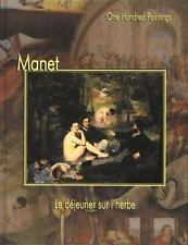 MANET 100 PAINTINGS Federico Zeri 2000 HC NEW BEAUTIFUL ART WORKS