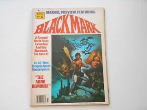 Marvel Preview #17; Blackmark, (Marvel), 6.0 FN