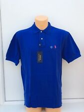 POLO RALPH LAUREN Small Pony Polo Shirt in Bright Royal Blue Size L BNWT