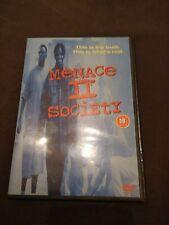 MENACE II SOCIETY  UK dvd release (Region 2 DVD)