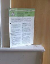 Oilseed rape     (ADAS Leaflet P 2278)