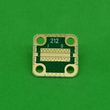 "Develop PCB RO4350 Grounded Coplanar Waveguide (9/16""x9/16""x0.03"") 45Mil Trace"