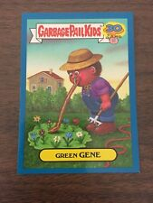 Garbage Pail Kids 2015 30th Blue Parallel - 3a Green Gene Cutting Room Floor