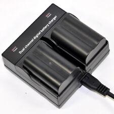 Dual Charger +2x Battery For Pentax D-LI50 K10 K20D MINOLTA NP-400 Dynax 5D 7D