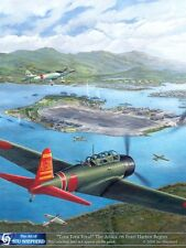 ART PRINT:  Tora Tora Tora Pearl Harbor Attack - Print by Shepherd