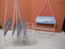 5pc Shower Caddy Bathroom Shelf/Rack with Soap Holder, New