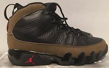 Authentic Nike Air Jordan 9 IX Retro 2002 release olive size 10 deadstock