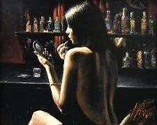 """FABIAN PEREZ """"ANNA AT THE BAR"""" 2009 