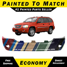 NEW Painted to Match- Front Bumper Cover Replacement 2002-2009 GMC Envoy SLE SLT
