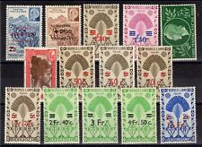 MADAGASCAR: SERIE COMPLETE DE 14 TIMBRES N°284/297 NEUF** MNH Cote: 12€