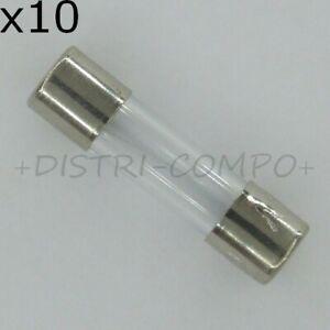 Fusible en verre retardé 5x20mm 250V (1 boites de 10) valeur au choix