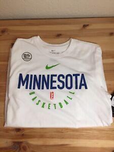 NEW W/ TAG Nike Tee WNBA DRI-FIT Small Minnesota Basketball White Cotton Tee