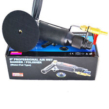 "5"" Air Wet Sander Polisher Pneumatic Water-injection Milling Polishing Machines"